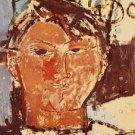 Modigliani - Portrait of Pablo Picasso - 30x40 IN Canvas