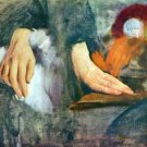 Hand Study by Degas - A3 Poster
