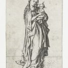 Madonna with child. 1470-1490 - 24x32 IN Canvas