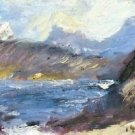 Walchensee [8] by Lovis Corinth - A3 Poster