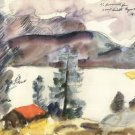 Walchensee [7] by Lovis Corinth - A3 Poster