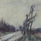 Village Road in Autumn, 1911 - A3 Poster