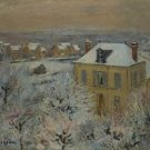 House in Winter, 1911 - A3 Poster