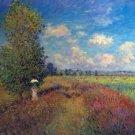 Poppy Field in Summer by Monet - 30x40 IN Canvas