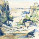 Landscape in Provence, 1880 - A3 Poster