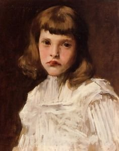 Portrait of Dorothy, 1901 - 24x32 IN Canvas