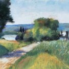 Sea and Landscape by Lesser Ury - 30x40 IN Canvas