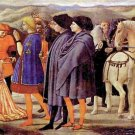 Adoration of the Kings [2] by Masaccio - 24x18 IN Canvas