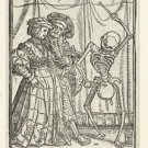 Noble Woman and Death. 1524-1538 - A3 Poster