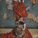 Camille in Japanese dress by Monet - A3 Paper Print