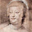 Portrait of Maria de' Medici by Rubens - A3 Poster