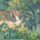 The House of Pere Lacroix in Auvers, 1873 - A3 Poster