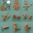 Vinteja charts of - Glove Squirrel - A3 Paper Print