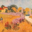 Farmhouse in Provence by Van Gogh - A3 Poster