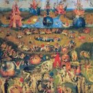 The Garden of Delights by Bosch - A3 Poster