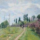 Landscape of Ile-de-France, 1874 - A3 Poster