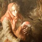 Mother and her child Anders Zorn - A3 Poster