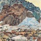 Der Grindelwaldgletscher, 1912 1 - 24x18 IN Poster