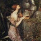 Lamia and the Soldier - 24x18 IN Poster