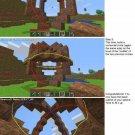 Vinteja charts of - Minecraft Sphere - A3 Paper Print