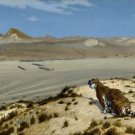 Gerome - Tiger on the Watch - 30x40IN Paper Print