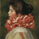 Girl in a Red Ruff, 1896 - 24x18 IN Poster