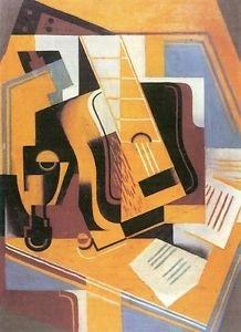 Guitar [1] by Juan Gris - Poster (24x32IN)