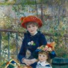Renoir - Two sisters on the terrace 2 - 30x40 IN Canvas
