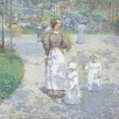 Spring in Central Park, 1908 - A3 Poster