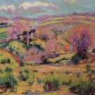 Landscape of the Creuse, Spring - A3 Poster