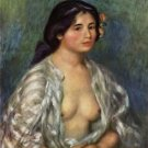 Gabrielle in Open Blouse, 1911 - A3 Poster