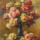 Roses in a Vase, 1910-17 - A3 Poster