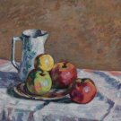 Still Life with Apples, 1914 - 24x18 IN Canvas