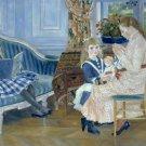 Children's Afternoon at Wargemont, 1884 - 24x18 IN Canvas