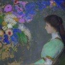 Portrait of Violette Heyman, 1909 - 24x18 IN Canvas