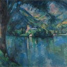 The Lake of Annecy, 1896 - 24x18 IN Canvas