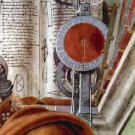 St. Augustine in prayer Detail 2 by Botticelli - A3 Poster