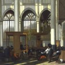 Interior of the Oude Kerk in Amsterdam (1) - A3 Poster