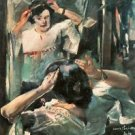 Before the mirror by Lovis Corinth - A3 Poster