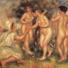 Judgement of Paris, 1908 - 24x32 IN Canvas