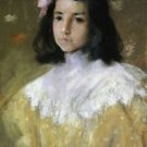 The Pink Bow, 1895 - 24x32 IN Canvas
