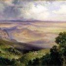 Thomas Moran - Valley of Cuernavaca - 24x32IN Paper Print