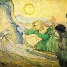 Resurrection of Lazarus by Van Gogh - A3 Poster
