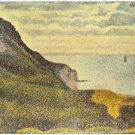 View of Port-en-Bessin by Seurat - 24x18 IN Poster
