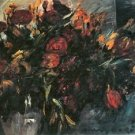 Red and yellow tulips by Lovis Corinth - 30x40 IN Canvas