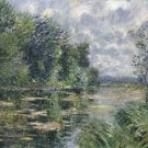 Small Arm of the Seine near Connelle, 1921 - 30x40 IN Canvas