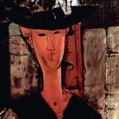 Modigliani - Lady With Hat - Poster (24x32IN)