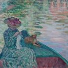 Young Girl in a Boat - Poster (24x32IN)