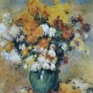 Bouquet of Chrysanthemums, 1885 - Poster (24x32IN)