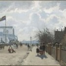 The Crystal Palace, 1871 - 24x32 IN Canvas